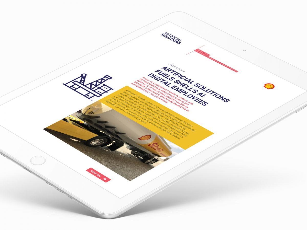 Artificial Solutions case study iPad
